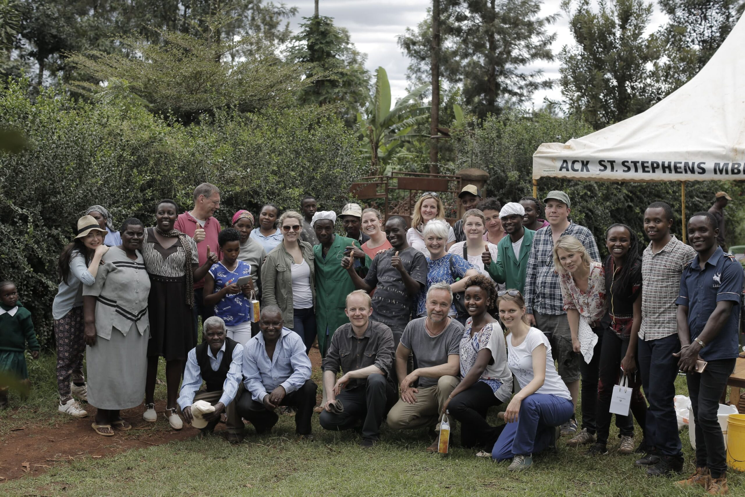 One group - one international network. naturamus supports its partners as much as possible like here: the Limbua Group located in Embu (Kenya)